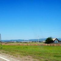 Тункинская долина. Деревня Торы