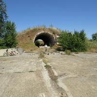 Бункер-хранилище на заброшенной позиции ПВО