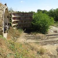 Бункер-хранилище (вход) на заброшенной позиции ПВО