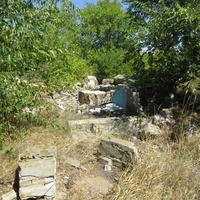 КПП бункера (разрушен) на заброшенной позиции ПВО