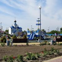 Набережная станицы Романовской
