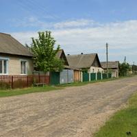 Улица в Белынковичах.