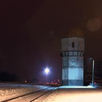 Водонапорная башня шуйского железнодорожного вокзала
