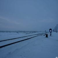 Железная дорога в тундре