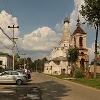 Переславль-Залесский. Петровский храм. 1585 год.