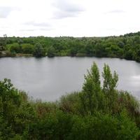 Кар'єр в Березняках,вид з північної сторони
