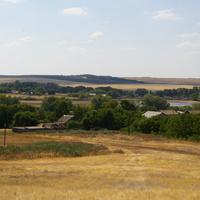 Вид с холма с северной стороны