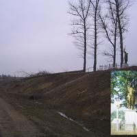 Памятник погибшим воинам (захаронен 31 воин)