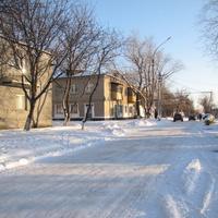 Терновка.Улица Курская.Декабрь 2016 года.