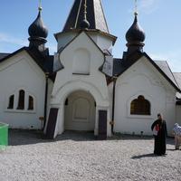 Часовня-купальня на святом источнике Иоанна Богослова в Пощупово