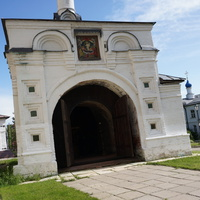 Часовня Иконы Божией Матери Иверская в Иоанно-Богословском монастыре