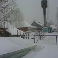 Снежный декабрь в Новоильинске. 2016.