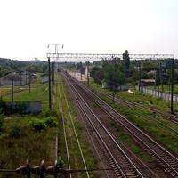 Вид на станцію