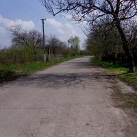 Дорога в центр села