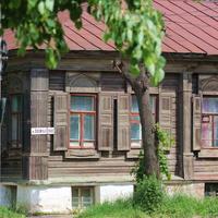 Старый дом на Васильевской улице