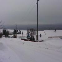 Зимний посёлок. Дорога К Каме.