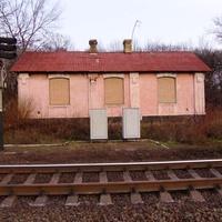 Казарма залізничників,побудована на початку 20 ст.