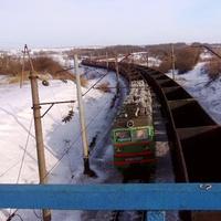 Вид із залізничного мосту.