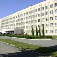 Корпус міської лікарні.