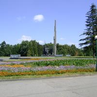 Памятник визволителям.
