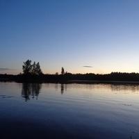 Озеро Опаринское.