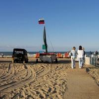 Утром на пляже. 15.09.2007г.