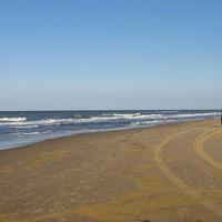 Утро на пляже. 15.09.2007г.