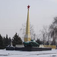 Мемориал памяти погибшим в ВОВ. пос. Глубокий