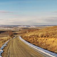 Дорога из Улея на Чернышевск