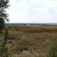 На горизонті Комсомольськ (Горішні Плавні).
