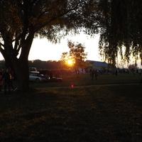 Захід сонця.