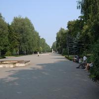 Кременчук. Бульвар Пушкіна.