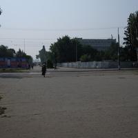 Кременчук. Бульвар Пушкіна  в сторону Дніпра.