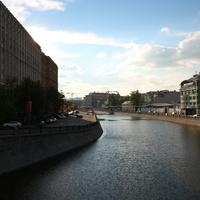 Водоотводный канал реки Москва