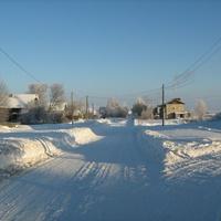 д.Сакулинская зимой