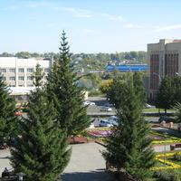 Анжеро-Судженск. Здание гостиницы и суда