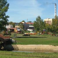 Анжеро-Судженск. Городской парк