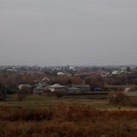 Улица Горького, вид с остановки.