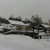 Вид посёлка от автостанции.