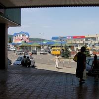 На автовокзале. 16.08.2008г.