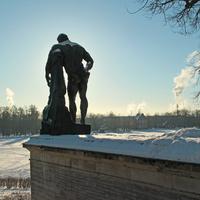 Статуя Геракла на Камероновой галерее