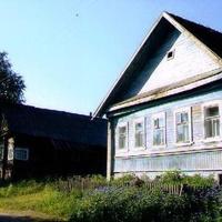 Лутовёнка,Центральная улица, дома  Просовиковых, июнь 2006 г.