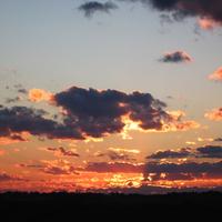 Закат над Суроватихой