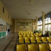 Зал ожидания в автовокзале города Сумы