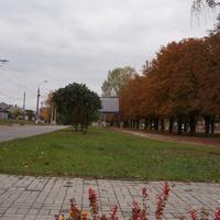 Сквер памяти жертв Голодомора