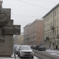 Угол Большой Пушкарской и ул. Пионерской