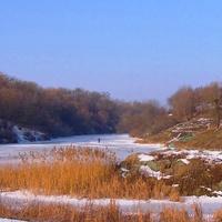 Пушкінська скеля,вид з Покровської сторони.