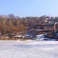 Вид на вул Набережна.