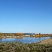 Река Ия. Тулун с объездной дороги