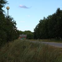 В посёлке